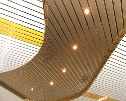 Потолок в промышленные помещения1
